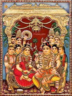 Tanjore Painting, Krishna Painting, Shree Krishna, Krishna Art, Pongal Celebration, Lord Krishna Images, Diwali Gifts, Women's Beauty, God Pictures
