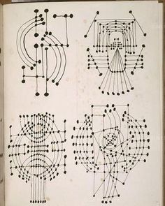 L'inspiration! #Picasso's Constellation drawings, 1924. Because they're just great.