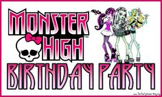 Monster High Birthday Party Games -Leah