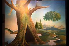Vladimir Kush.  Tree Of Life.