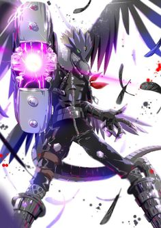 Digimon Tamers: Beelzemon Blast Mode