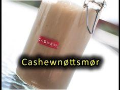 Hjemmelaget cashewnøttsmør (med kokosolje) - matbok.no