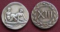 Roman brothel coins