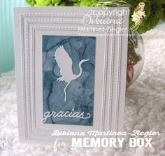 Stamping with Bibiana: Background Technique with Re-inkers and Alcohol using memory box dies Memory Box Dies, Paper Crafts, Diy Crafts, Survival Skills, I Card, Cardmaking, Alcohol, Birds, Memories