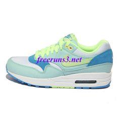 eQ87t2 Womens Nike Air Max 1 Julep Liquid Lime Coast White Shoes