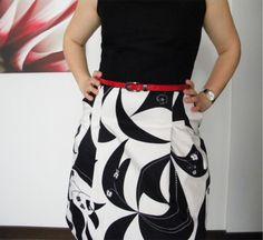 60'lar modası Retro giysiler Retro elbise dikişi moda dikiş blog siyah beyaz
