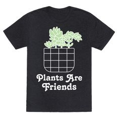 This Plants Are Friends shirt is perfect for anyone who is a fan of succulents…