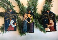 O Holy Night - Ornament PATTERN - BPJ405