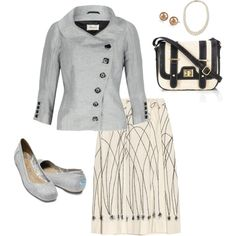"""""""Summer Thursday business suit"""" by rachelgeddy on Polyvore"""