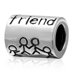 Friends 925 Sterling Silver Charm Bead Gift for My Best Friend *** You can get additional details at the image link.(This is an Amazon affiliate link and I receive a commission for the sales) #GoldJewelry
