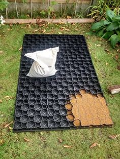 Garden Shed base Eco paver shed base 6ft x 3ft including weed control fabric and pins