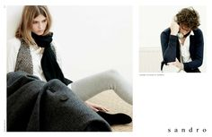 First Sandro's shooting campaign - Mens & Womens Fall Winter 2008/9 by Mlle Noi.