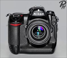 Nikon D2x Camera http://www.photographic-hardware.info