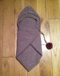 Stitch me Softly...: Baby Snuggle Wrap - knitting pattern