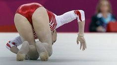 Vika failed on floor