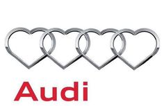 Feel the Audi love this Valentine's Day Weird Cars, Cool Cars, My Dream Car, Dream Cars, Keep Calm Wallpaper, Audi A1, Buick Logo, My Ride, Car Pictures