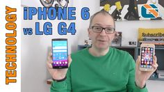 Apple iPhone 6 vs LG G4 #LGG4 #iPhone6