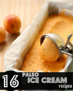 Dairy-free Apricot Ice Cream / HOMEGROWN KITCHEN - this sounds delicious! Can't wait for apricots to come in season Paleo Dessert, Paleo Sweets, Dessert Table, Dessert Recipes, Paleo Ice Cream, Ice Cream Recipes, Coconut Cream, Milk Recipes, Comidas Paleo