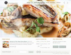 Fish Restaurant Charleston | Website Design