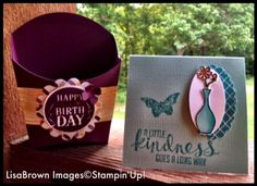 Free gift with your Stampin' Up! order from Lisa Brown, ink and inspirations, through July 25, 2014! Hostess code: QKDY6PFP www.inkandinspirations.com