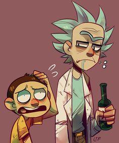 The Schwiftiest Rick & Morty Fan Art Rick And Morty Comic, Rick I Morty, Rick And Morty Characters, Ricky And Morty, Wubba Lubba, Bd Art, Rick E, Justin Roiland, Dan Harmon