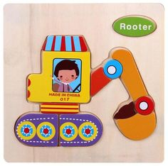 Baby Toys Wooden Puzzle Jigsaw Wooden Toys For Children Cartoon Animal Puzzles Intelligence Kids Children Educational Toy Jigsaw Puzzles For Kids, Wooden Jigsaw Puzzles, Wooden Blocks, Cartoon Puzzle, Cartoon Kids, 3d Cartoon, Cartoon Brain, Wooden Educational Toys, Animal Puzzle