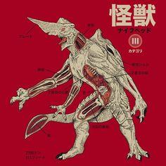 Pacific Rim. Kaiju knife head anatomy