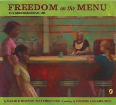 This book is great for kids who are studying civil rights or historical fiction. All little kids in this town want to be able to sit at the cool table in the restaurant. Even though connie is to young to march with her family, she herself wants to help her family end the war that has torn apart her town.