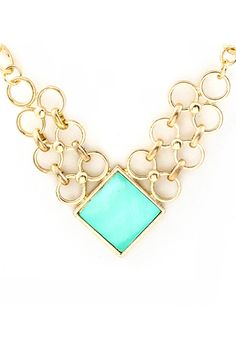Greek Mother of Pearl Clair Necklace.