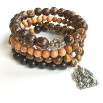 Courage Protection Men's Mala Bracelet www. Trendy Bracelets, Bracelets For Men, Beaded Bracelets, Bracelet Size Chart, Bracelet Sizes, Yoga Jewelry, Jewelry Gifts, Romantic Gifts For Men, Best Gift For Husband