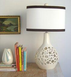 #Lamp #Ceramic #Circles Circles Ceramic Lamp