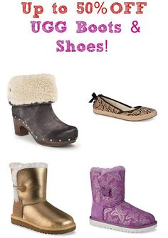 Central Coast Couponista: UGG Boots  Shoes ~ 50% OFF