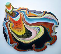 Holton Rower pouring -- could I do this with glaze?