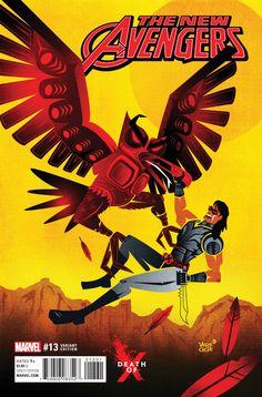 New Avengers Vol. 4 # 13 (Variant) by Jeffrey Veregge