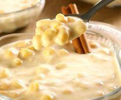 Receita de Canjica com creme de leite - Show de Receitas
