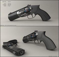 Concept of sci fi pulse rifle. Quite busy these days but I've been able to make…