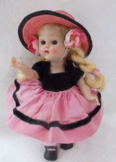 """Vogue Ginny PL Walker """"Candy Dandy"""" # 55 from 1954 WOW! #DollswithClothingAccessories"""