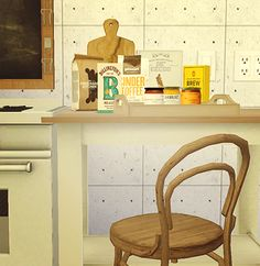 paisleyavenueredux's recolors conversion / download here this set includes mari's recolors of: • pocci's era dining chair • billyjean's vintage flour bag and savon soap • LL's jam jar, cereal box and...