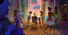 Artes de Carlos Zaragoza para o filme Vivo | TheCAB Visual Development, Great Artists, Character Shoes, Animation, Instagram, Painting, Movies, Zaragoza, Artists