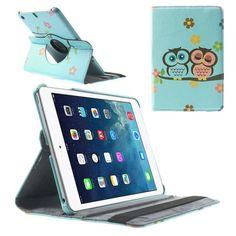Mesh - iPad Mini 2 (Retina) Hoes - Rotatie Cover Twee Uilen