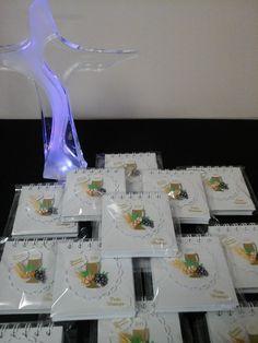 Lembrancinhas da Primeira Eucaristia-Bloquinhos personalizados produzidos por Mônica Guedes