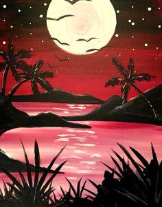Paint Nite - Heat of the Night