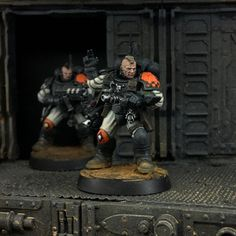 Sci Fi Miniatures, Warhammer 40k Miniatures, Scouts, Rogue Traders, Sci Fi Armor, Fantasy Battle, Game Workshop, Mini Paintings, Warhammer 40000