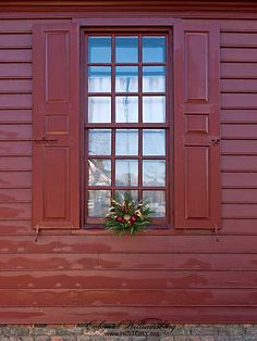 105 Best Colonial Christmas Homes - Outdoors images in ...
