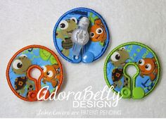 Finding Nemo Squirt Gtube Covers Gtube Pads by AdorabellyDesign on Etsy https://www.etsy.com/listing/234502118/finding-nemo-squirt-gtube-covers-gtube