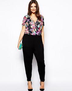 jumpsuits for plus size women   Plus Size Curvy Girls