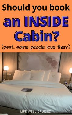 7 reasons that you might want to book an interior cabin on your cruise. There are some surprising benefits to inside cabins, and reasons so many avid cruisers choose these staterooms over others. See if an inside room is for you. #cruisecabin #cruises #cruisetips #cruising #insidecabincruise Cruise Ship Reviews, Best Cruise Ships, Cruise Port, Cruise Vacation, Cruise Packing Tips, Carnival Cruise Ships, Why Book, Cheap Cruises, Norwegian Cruise Line