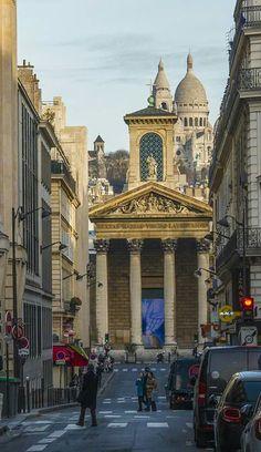 Notre Dame de Lorette et le Sacré-Coeur - Paris 9e