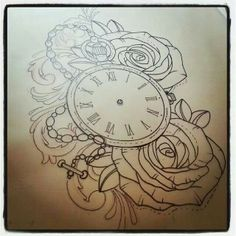 1000 images about body ink for Stop watch tattoos