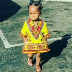 Toddler African tunic